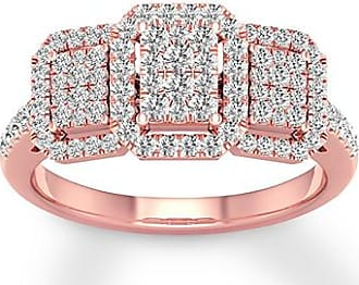 099699a69a0703 Kay Jewelers Diamond Engagement Ring 1/2 ct tw Round-cut 10K Rose Gold