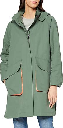 EDC by Esprit Womens 010cc1g308 Coat, Green (Khaki Green 350), X-Large
