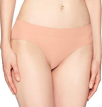 191eb172aa65 DKNY Womens Seamless Litewear Solid Bikini, Tea Rose Dark, Large