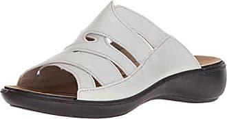 Romika Hollywod Comfort Slider Sandal 7-7.5 US 38 M EU , White