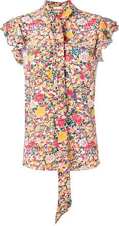 Etro bohemian flowers blouse - Yellow