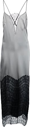 Kiki De Montparnasse lace inset gown - SILVER