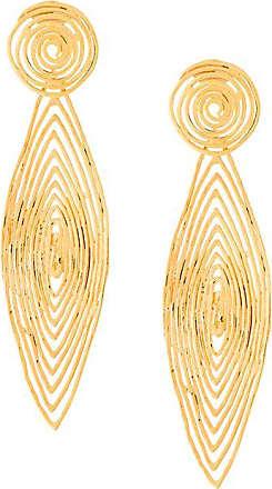 Gas Bijoux Longwave small size earrings - Metálico