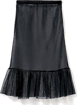 Enna Tüllrock aus Bio-Baumwolle, schwarz