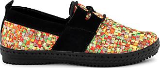 bernie mev. Womens Lazers Slip-On Sneaker (Citrus, 5)