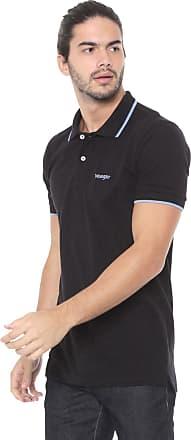 Wrangler Camisa Polo Wrangler Logo Preta