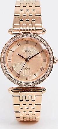 Fossil ES4711 Lyric bracelet watch in rose gold
