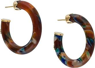 Gas Bijoux Caftan hoop earrings - Marrom