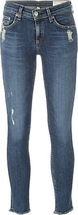 Rag & Bone distressed cropped jeans - Blue