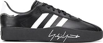 Yohji Yamamoto Tangutsu football leather sneakers - Black