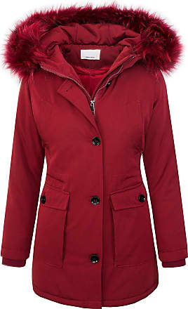 Rock Creek Designer Ladies Jacket Parka Coat Winter Jacket Short Coat D 345