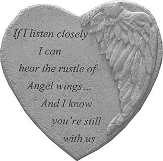 Kay Berry If I Listen Memorial Garden Stone - 08920