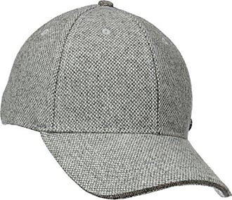 bd01a2ad429ff5 Haggar Mens Donegal Baseball Cap, Grey One Size