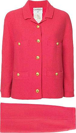 Chanel logo blazer - Pink