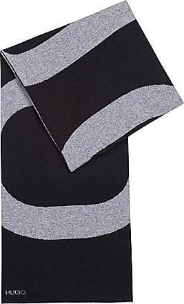 971edab657e HUGO BOSS Écharpe en maille jacquard à logo inversé
