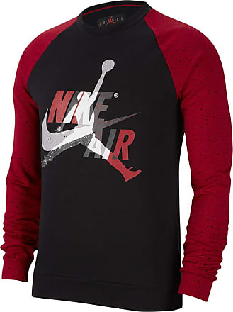 Nike Jordan Jumpman Classics, Mens Lightweight Crew Neck Sweatshirt, CK2848-010. - Multicolour - M