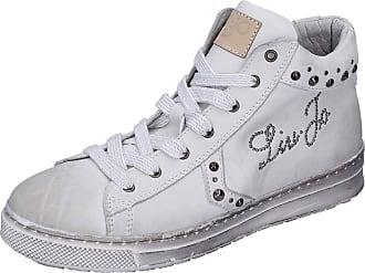 Liu Jo Baby-Girls Leather White Fashion-Sneakers 3.5 UK Child