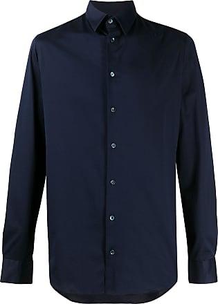Giorgio Armani Camisa de algodão - Azul