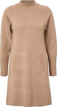 include Knitted dress is 100% cashmere include brown