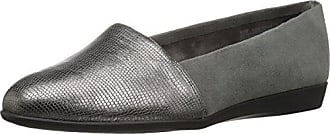 Aerosoles Womens Trend Setter Loafer, Dark Gray Combo, 12 M US