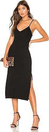 Privacy Please Bette Midi Dress in Black