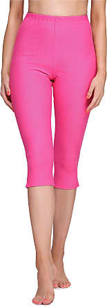 Merry Style Womens 3/4 Leggings MS10-289(Pink, M)