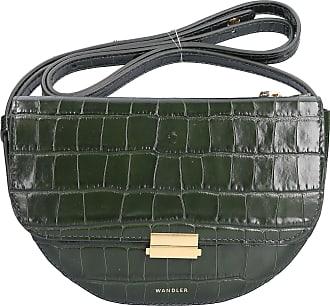 Wandler Belt Bag ANNA BIG BELT BAG Kalbsleder prägung grün