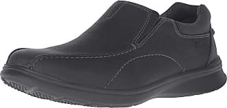 Clarks Mens Cotrell Step Slip-on Loafer, Black Oily, 8.5 W US