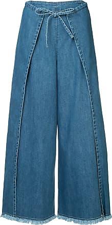 Frei EA wide leg skirt jeans - Blue