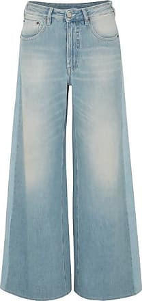 Maison Margiela High-rise Wide-leg Jeans - Mid denim