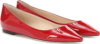 Jimmy Choo London Romy patent leather ballet flats