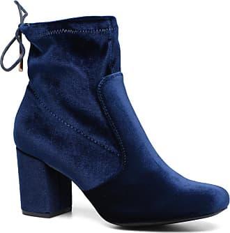 on sale a4157 1218c Stiefeletten Mit Absatz in Blau: Shoppe jetzt bis zu −71 ...