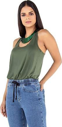 Latifundio Camiseta Regata Verde Militar