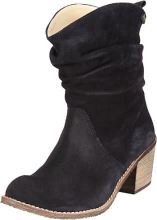 Gabor Schätzung Brogue Detail Pull On Suede Chelsea Stiefel