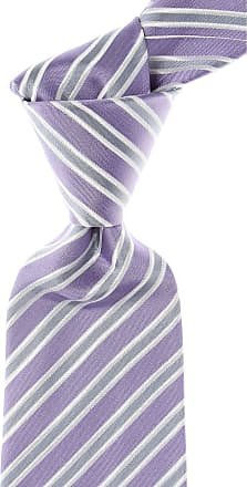 Kiton Ties On Sale, Lilac, Silk, 2017, one size