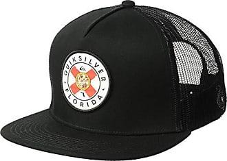 e1d1c468 Quiksilver Mens FL CRESTER Trucker HAT, Black, 1SZ
