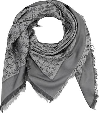 leichter Seidenschal 100/% Seide Damen Paisley Schal blau grau schwarz ocker 109