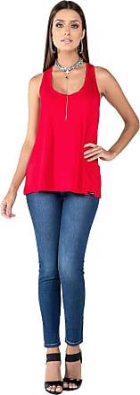 Latifundio Camiseta Regata Vermelho