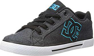 DC Shoes Girls Shoes Chelsea Se - Shoes - Girls 8-16 - US 13.5 - Black Black/Aqua US 13.5 / UK 12.5 / EU 31