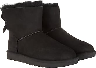 UGG Boots & Booties - W Mini Bailey Bow II Black - black - Boots & Booties for ladies