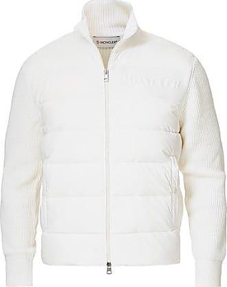 Moncler Hybrid Full Zip White