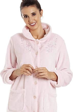 Camille Womens Various Button Housecoats 18/20 Light Pink