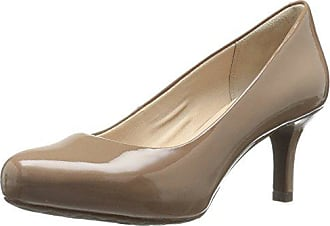 Rockport Womens STO7H65 Dress Pump, Rich Taupe Patent, 6 W (C)