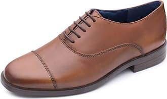 Padders Kensington 169 Mens Smart Lace-Up Shoe 7 UK Tan