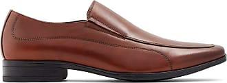 Aldo Mens Dress Loafers Shoes, Edmondson, Cognac, 7.5