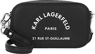 Karl Lagerfeld Rue Saint Guillaume Crossbody Black Umhängetasche schwarz