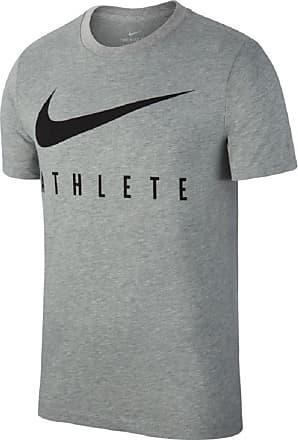Nike Dri-Fit Training T-Shirt Bekleidung Herren grau