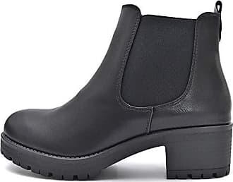 c8d032756de28f Kayla Shoes © Chelsea Boots Stiefelette in Schwarz oder Beige (36 EU