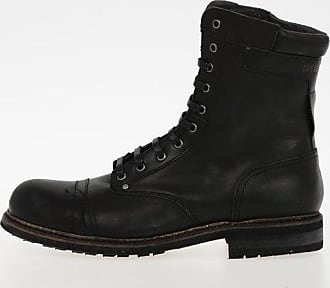 Diesel Leather CASSIDY Army Boots size 42