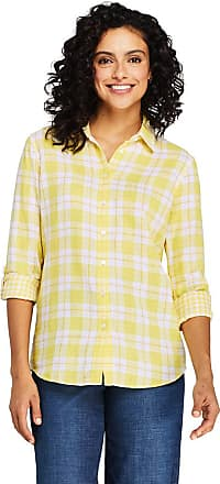 Essentials Womens Relaxed-Fit Lightweight 3//4 Sleeve Cotton Popover Tunic